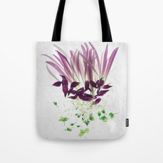 Alien Plant Botanical Blueprints Tote Bag