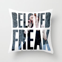 Garbage - 'Beloved Freak' Throw Pillow