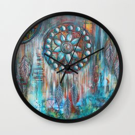 Dreamcatchers Wall Clock