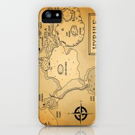 Hyrule Map  OOT iPhone Case