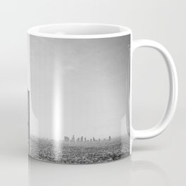 Griffith Park Observatory And Downtown Los Angeles Coffee Mug