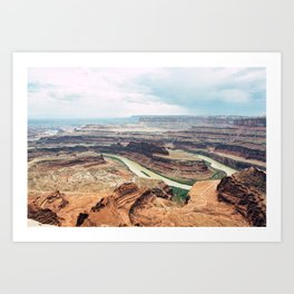 Dead Horse Point, UT Art Print
