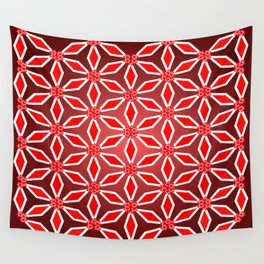 Flowers and patterns Wall Tapestry
