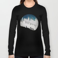 A Snowy Hike II Long Sleeve T-shirt