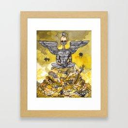 Keep an Eye Out Framed Art Print