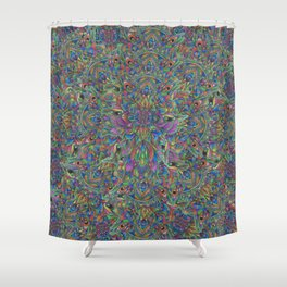 UnEarthly Alien Shower Curtain
