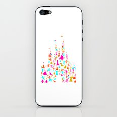 multicolored character castle iPhone & iPod Skin