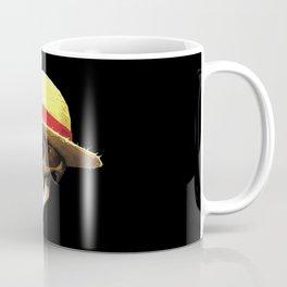 Straw Hat Zombie Coffee Mug