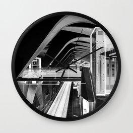 Lyon negativo Wall Clock