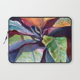 Colorful Tropical Leaves 3 Laptop Sleeve