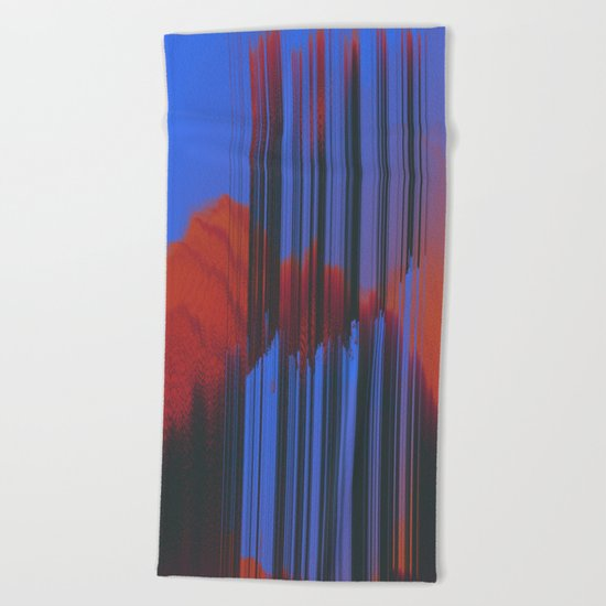 Sunset Melodic Beach Towel