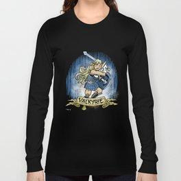 Gauntlet: Valkyrie portrait Long Sleeve T-shirt