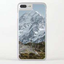 Mt. Cook Clear iPhone Case