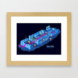 Zaxxon Framed Art Print