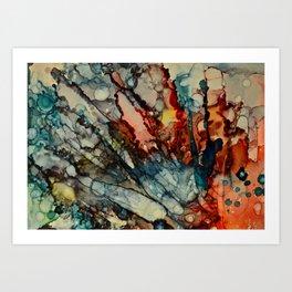 CORALINE SERIES-2 Art Print