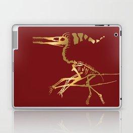 Scelet of the Christmas dragon Laptop & iPad Skin