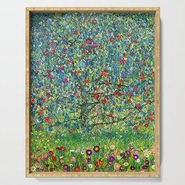 """Gustav Klimt """"Apple tree"""" Serving Tray"""