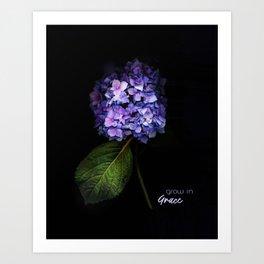 Grow In Grace Art Print