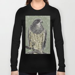 Black-chested buzzard-eagle (Geranoaetus melanoleucus) Long Sleeve T-shirt