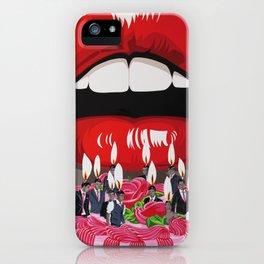 plaisir gourmand iPhone Case