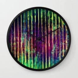 Syntax (Yellow + Green) Wall Clock