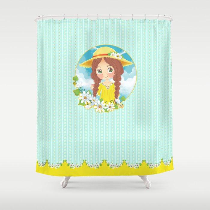 Lovely Summer Shower Curtain