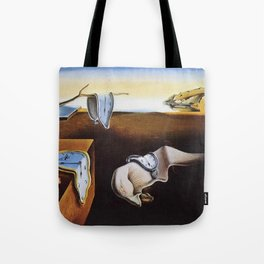 THE PERSISTENCE OF MEMORY - SALVADOR DALI Tote Bag