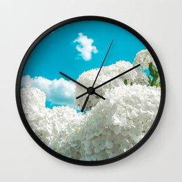 Sitting, wishing, waiting Wall Clock