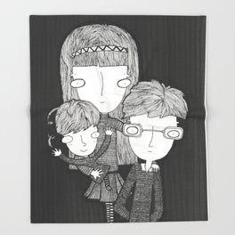 The Baudelaire orphans Throw Blanket
