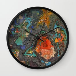 So Eden Sank to Grief Wall Clock