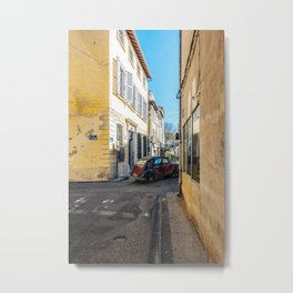 streets of avignon Metal Print