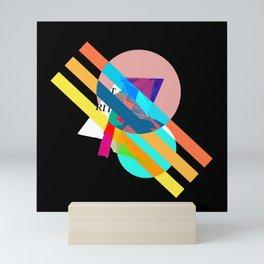 "Collage, ""RITT"" Mini Art Print"