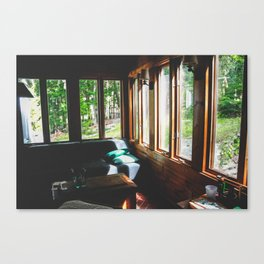 Cottage Lovers Canvas Print