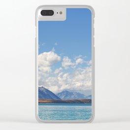 Lake Tekapo 2 Clear iPhone Case