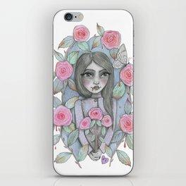 creepy garden iPhone Skin