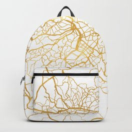 SAO PAULO CITY STREET MAP ART Backpack