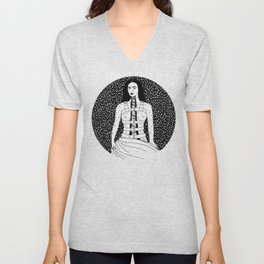 Frida Kahlo - Broken Column Unisex V-Neck