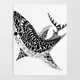 Mr Shark ecopop Poster