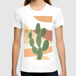 Abstract Cactus II T-shirt