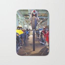 Motorcycle Alley Bath Mat