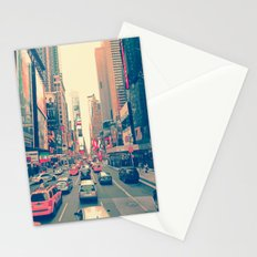 Times Square Traffic Stationery Cards