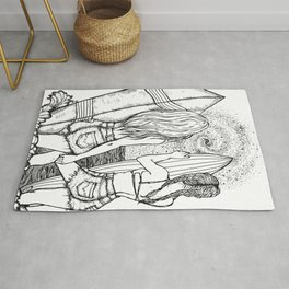 Surf the Universe Rug