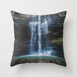 Cornelius Falls Throw Pillow
