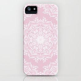 Lotus and Blush iPhone Case