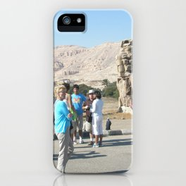 The Clossi of memnon at Luxor, Egypt, 3 iPhone Case