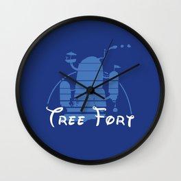 Tree Fort Wall Clock