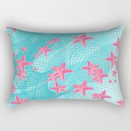 Pink starfish Rectangular Pillow