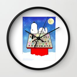 snoopy thing Wall Clock