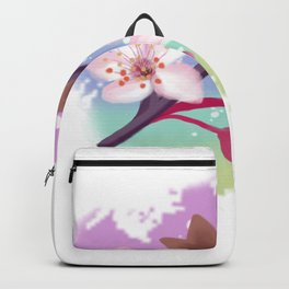 Cherry Blossoms Nature Backpack