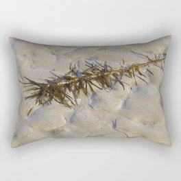 Barwon Heads Print   Bellarine Peninsula   Seaweed on the Beach Rectangular Pillow